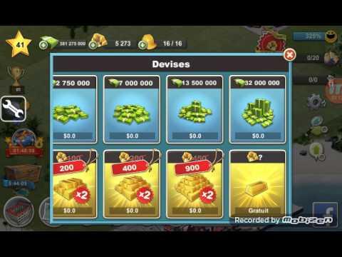 Nouveau Hack : City island 4 coins illimitées