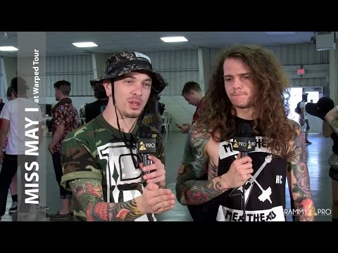 GRAMMY Pro Interview with Miss May I at Warped Tour 2015