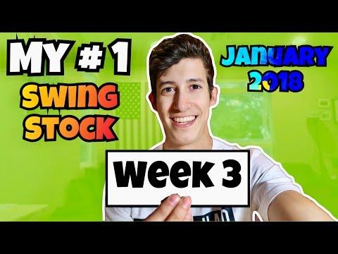 My #1 Swing Stock For January Week 3 2018   Stock Market