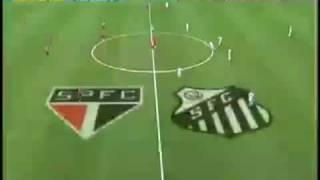 Santos 3 x 4 São Paulo - Campeonato Brasileiro 2009 (31ª Rodada) [PARTE 1/2]