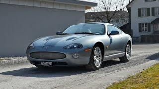 jaguar xkr V8 4 2 litre coupe supercharged iceblue 2004