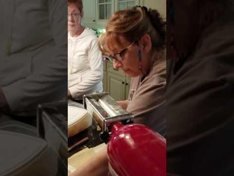 Homemade Pierogi lesson part 3- Rolling the Dough