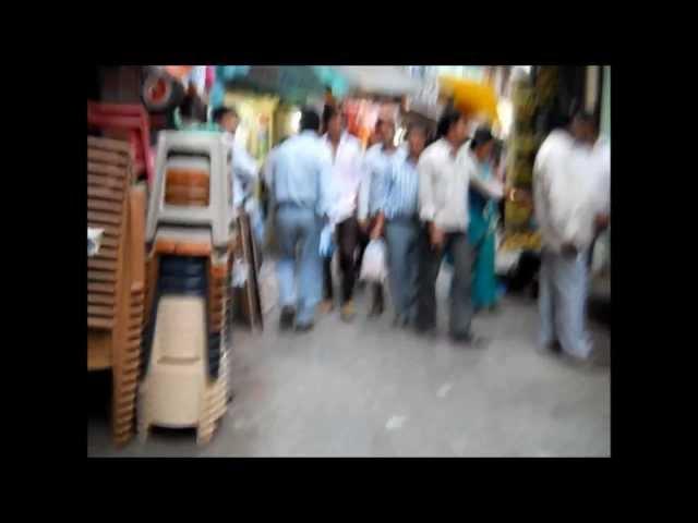 Walking down the Almora Bazaar - Uttaranchal