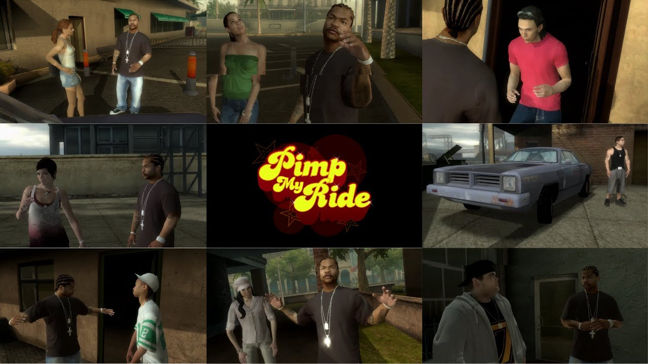 Download MTV'S Pimp My Ride Video Game - ALL CUTSCENES