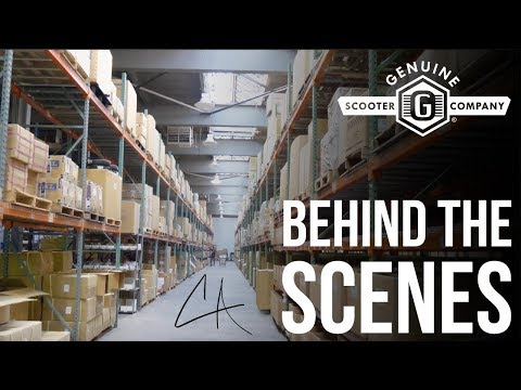 BEHIND THE SCENES AT GENUINE SCOOTERS | COLLIN AUSTIN | THE VLOG