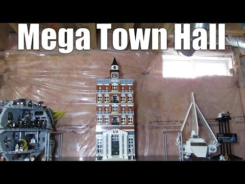 Combining Two Lego Modular Buildings - Town Hall Expanded – 10224