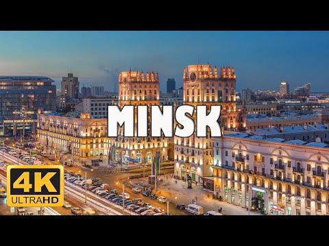 Minsk, Belarus 🇧🇾   4K Drone Footage