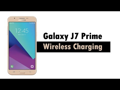 Samsung J7 Prime 2017 - Wireless Charging - YouTube