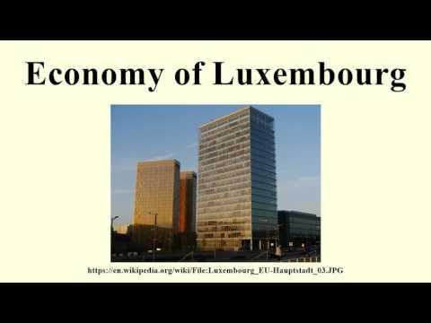 Economy of Luxembourg