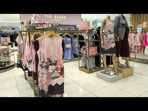 👍 Ted Baker Ladies Spring Summer 2018 | Walkthrough HD