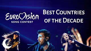 Eurovision | Top 46 Most Successful Countries (2010-2019)
