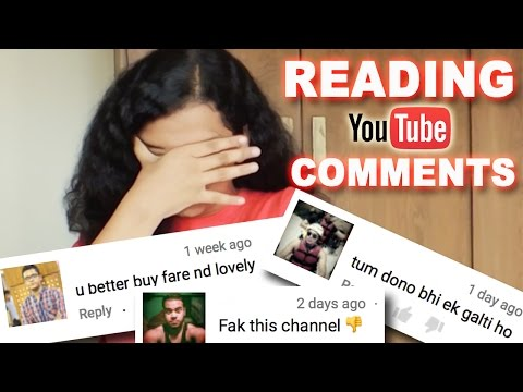 READING YOUTUBE COMMENTS   10K SUBSCRIBERS (NOT-SO) SPECIAL