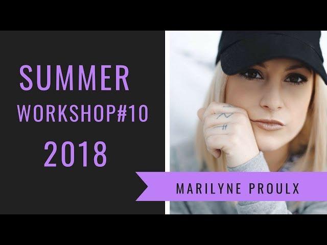 Travis Porter Make it Rain | Summer Workshop 2018 | Marilyne Proulx