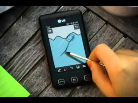 Very funny, handphone LG KP500 or LG Cookie