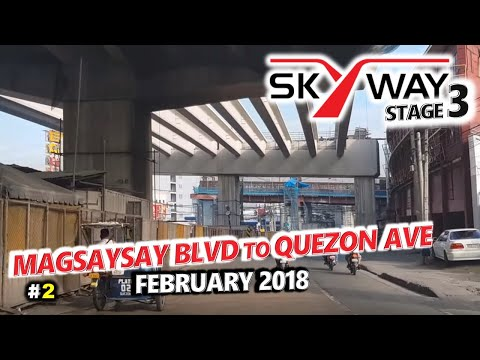 METRO MANILA SKYWAY STAGE 3 Update 2 🚗 Aurora Blvd to Quezon Ave, Quezon City 🚗 City Tour