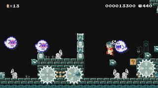 ♥♡ほのかワールド【SMB 3-3】NORMAL♡♥ by ♪ほのか♪ - Super Mario Maker - No Commentary