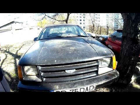 Abandoned Ford Tempo LX 1984 ASMR Car Tapping