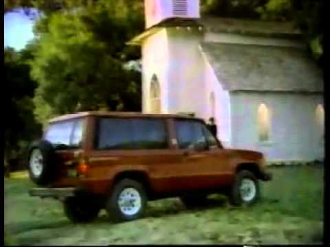 1985 Isuzu Trooper Ii Commercial Youtube