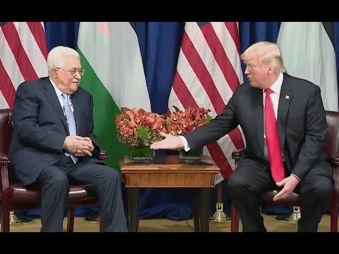 Trump Meets Palestinian President Mahmoud Abbas - Full Comments