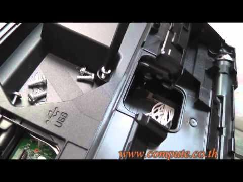 วิธีแกะหัวพิมพ์ Brother DCP-J140W โดยคอมพิวท์