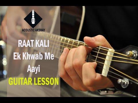 Raat Kali Ek Khwab Mein | Guitar Lesson | Buddha Mil Gaya | Kishore Kumar - RD Burman