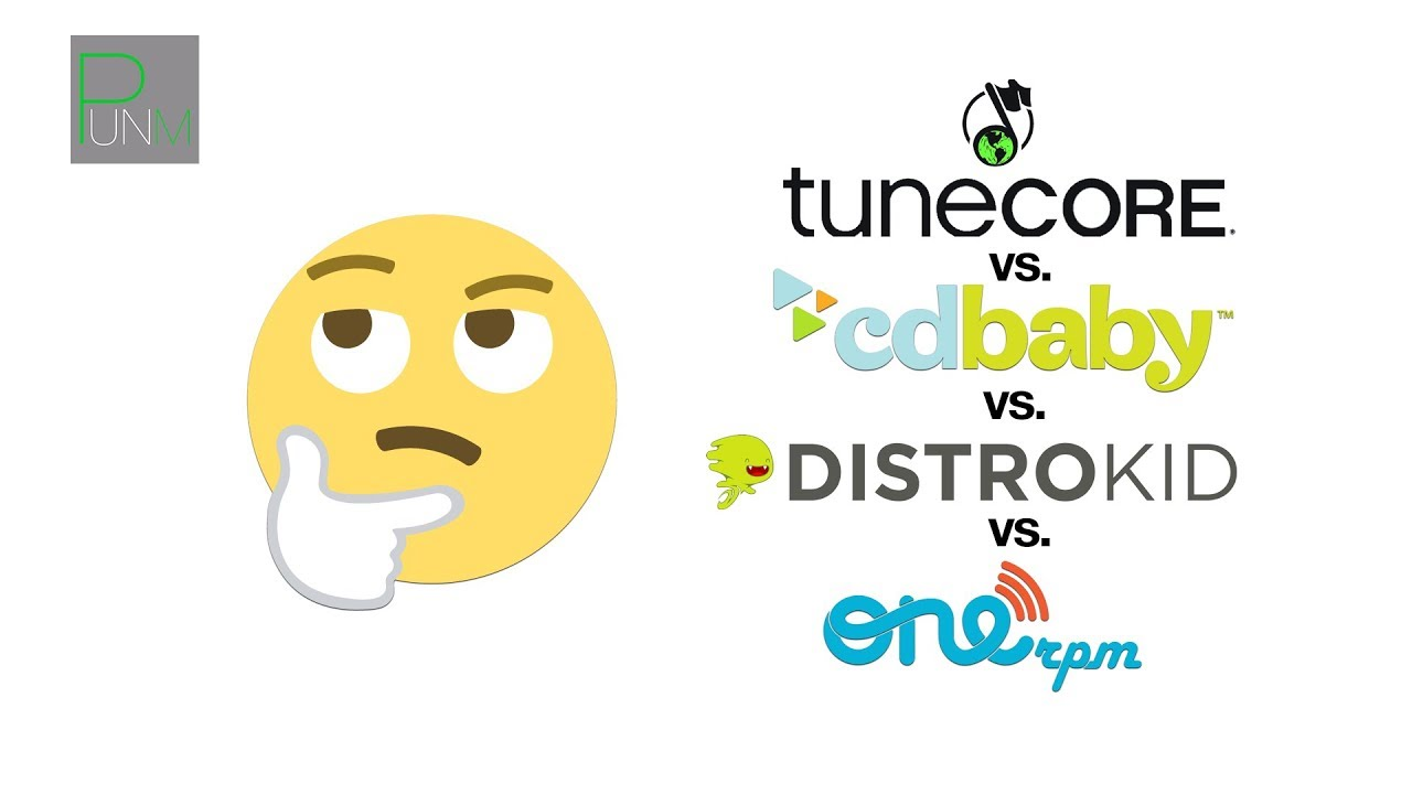 Cd baby vs tunecore