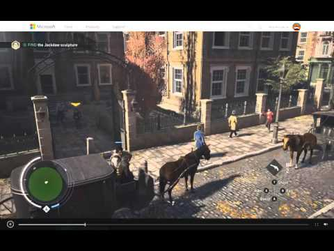 Assassins Creed Syndicate - Amazing Backflip stunt - YouTube