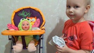 Кукольный стульчик для кормления Doll highchair(Кукольный стульчик для кормления Doll highchair СПАСИБО ЗА ПРОСМОТР !!! Приветствуем вас на канале Mimi Lissa Мими..., 2016-01-29T12:14:39.000Z)