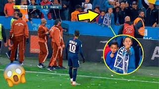 Criança XINGA Neymar na França! Olha a reação dele.