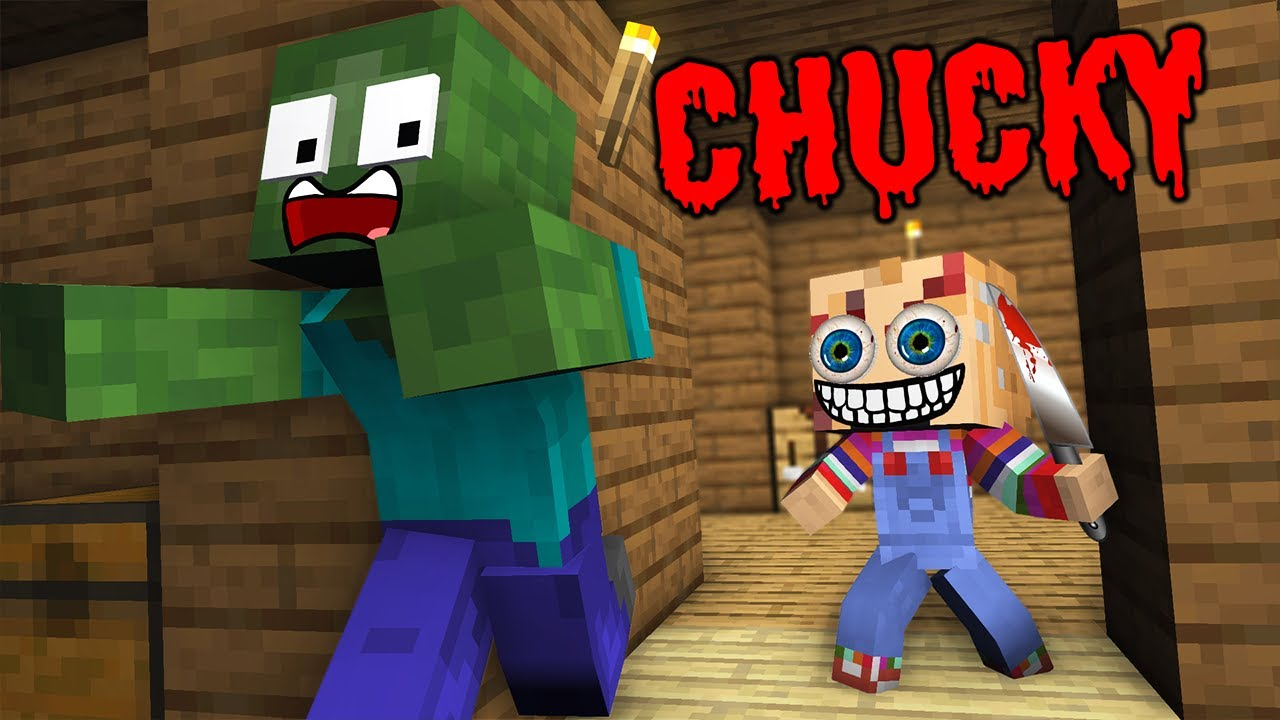 Monster School : CHUCKY HORROR GAME CHALLENGE NEW EPISODE - Minecraft Animation