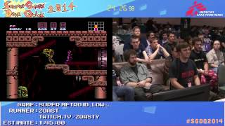 Summer Games Done Quick 2014 - Part 165 - Super Metroid Low Ice