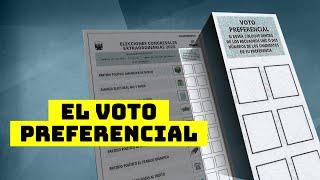 ABC electoral: ¿Qué es el voto preferencial y cómo funciona?   El Comercio