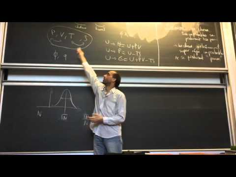 Cours de thermodynamique n°18 / Etienne Parizot / CPEI / Univ. Paris Diderot