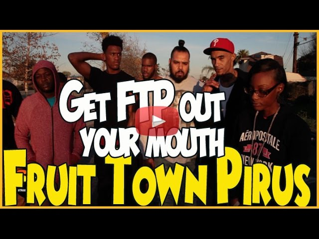 FRUIT TOWN PIRUS SAY SOULJA BOY IS NOT FROM THE SET!!!!!!