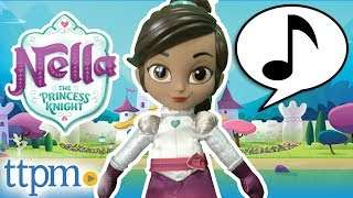 Nella The Princess Knight Talk & Sing Knight Nella from Vivid Toy Group