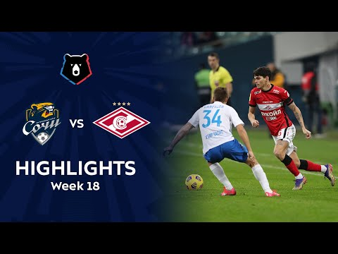 Sochi Spartak Moscow Goals And Highlights