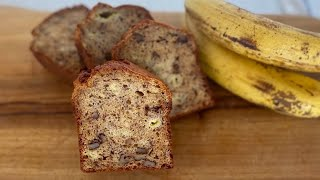 Very Easy Banana Bread Recipe/바나나브레드