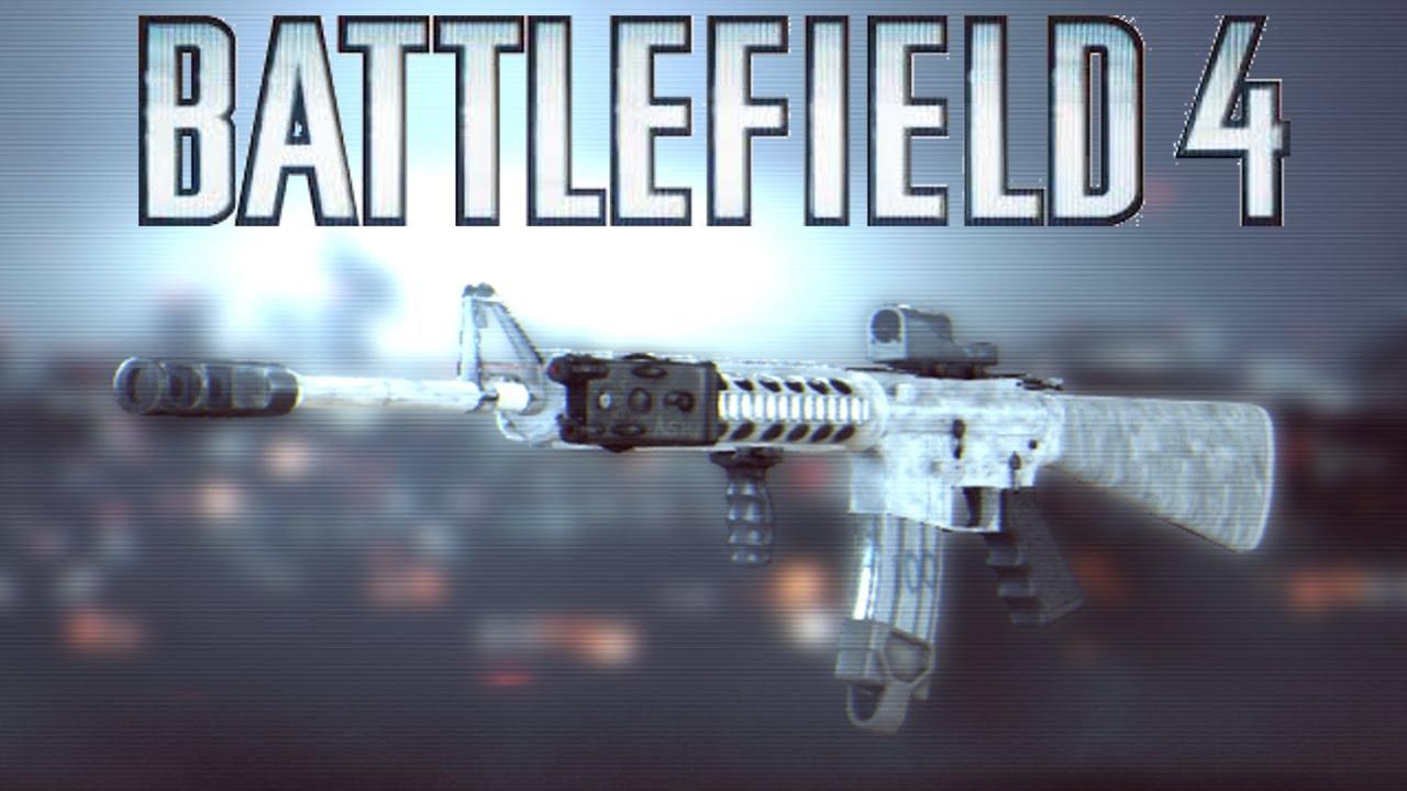 Battlefield 4 M16A4 Weapon Review - Burst Fire Precision ... M16a4 Bf3
