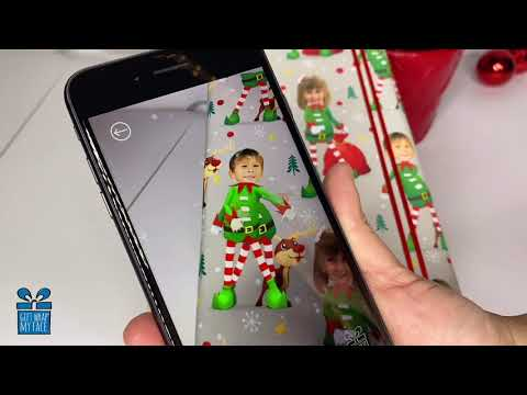 Andi and Kenny  - You Can Buy Gift Wrap This Holiday Season With Your Face On It