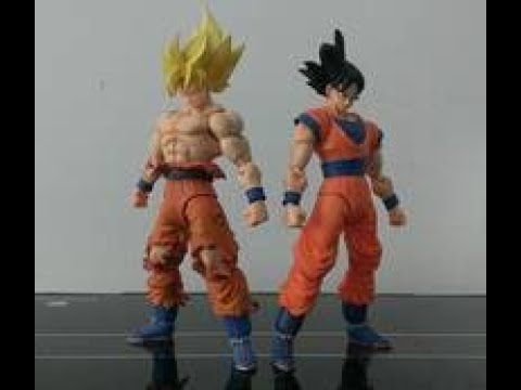 Download Dragon Ball z figures fight a transformer!!!