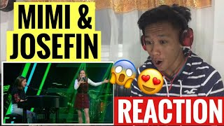 Radiohead - Creep (Mimi & Josefin) | Blind Auditions | The Voice Kids 2019 | REACTION