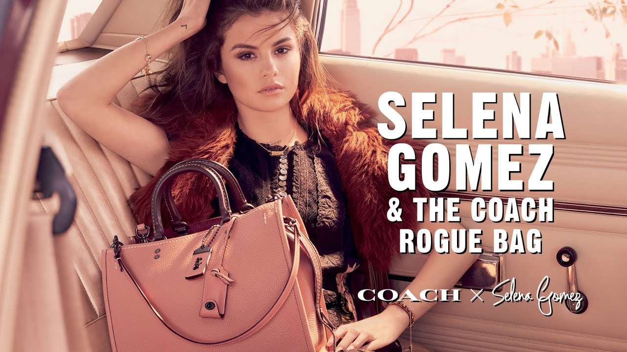 Selena Gomez For The Coach Rogue Youtube
