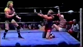 Mr  Wrestling II & Magnum T A  vs The Midnight Express