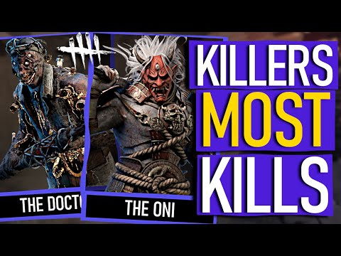 Dead By Daylight - The KILLERS Who Have KILLED The MOST People!
