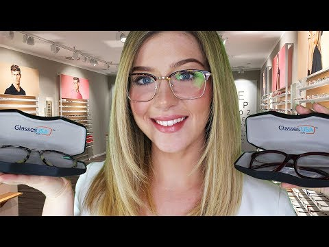 ASMR Glasses Opticians Try On & Fitting Roleplay