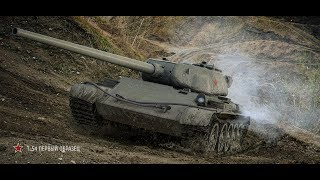 Шикарний бій на Т-54 Перший Зразок!