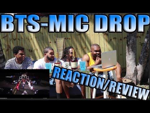 MIAMI !!! BTS (방탄소년단) 'MIC Drop (Steve Aoki Remix)' REACTION/REVIEW