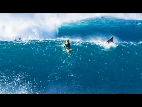 BEST WAVES IN YEARS (MASSIVE PIPELINE)
