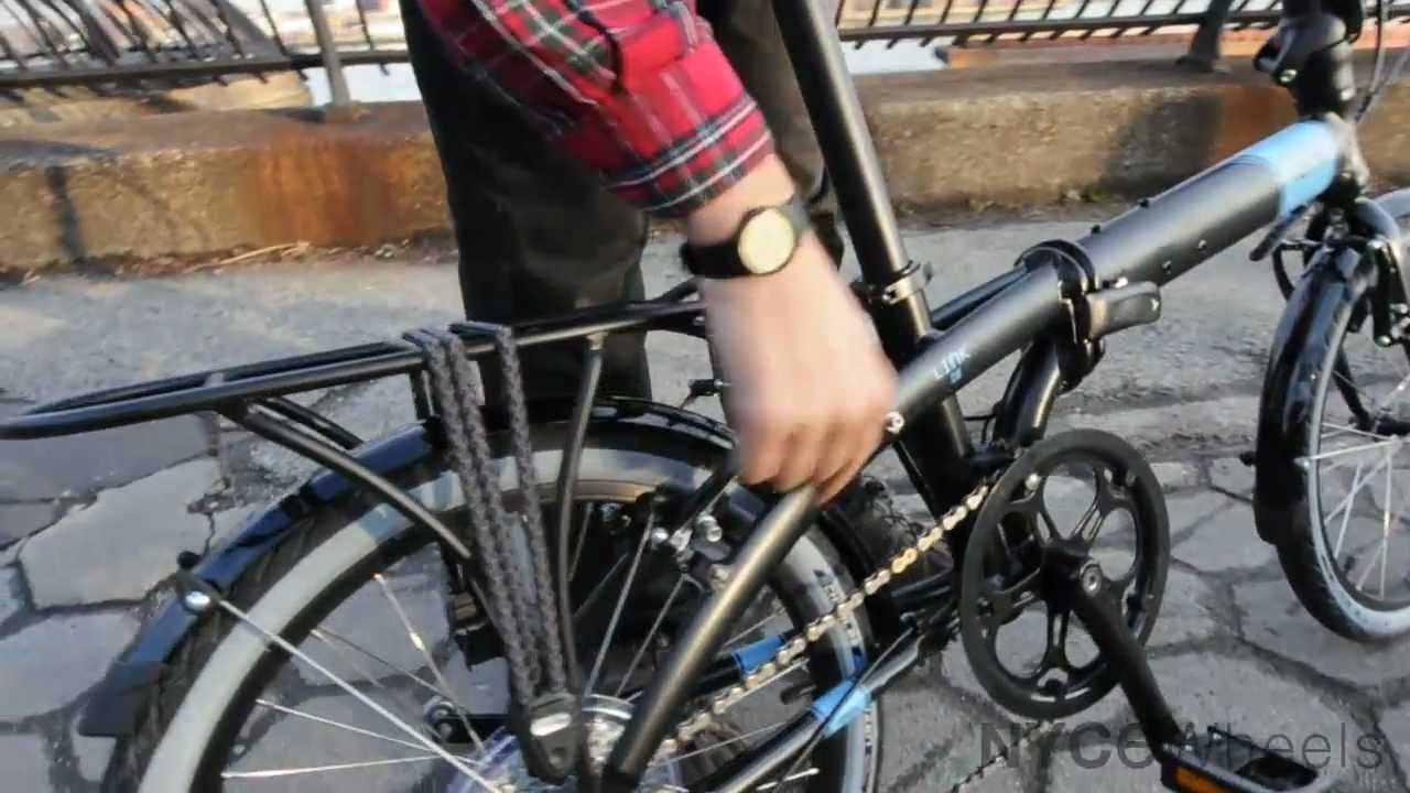 Bici Pieghevole Tern Link P9.Tern Link D8 Folding Bike Best Value Tern Bicycle Youtube