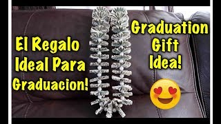 DIY Graduation Money Lei (Necklace) -How to Make a Banknote Necklace! Graduation, Wedding or Birthday!